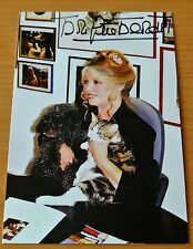 Brigitte Bardot Signed Official Photo Post Card Autograph French Film & COA