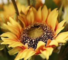 Home Garden Wedding Silk Flowers Bridal Artificial Sunflower Decor Craft
