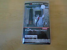 Monster iCarPlay Direct Connect 2000 2.1 Amperage Charges iPhone iPod 133235-00