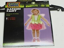 NWT Totally Ghoul Garden Fairy Dress Halloween Costume Toddlers 2-4 Years