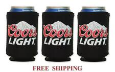 COORS LIGHT MOUNTAINS 3 BEER CAN HOLDERS COOLER COOZIE COOLIE KOOZIE HUGGIE NEW
