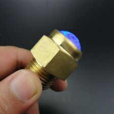 "1PC Bright Blue LED Drain Plug Light 1/2"" NPT For Marine Boat Underwater Great"