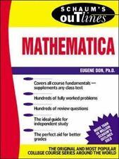 Schaum's Outline of Mathematica