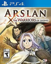 Arslan: The Warriors of Legend - PS4 w/Bonus DLC (Brand New + Free Shipping)