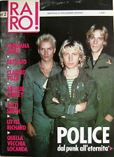 RARO 2 1988 Police Little Richard Patti Smith Quella Vecchia Locanda Battiato