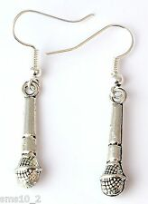 Hand Made Microphone Earrings HCE0311