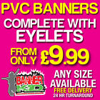 PVC BANNERS - PRINTED OUTDOOR SIGN VINYL BANNERS ADVERTISING UK SELLER (6)