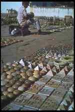 093036 Folk Artist Polishing His Stone Wares In Ouro Preto A4 Photo Print