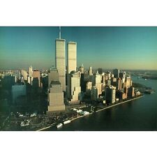 OVER AND ABOVE - TWIN TOWERS POSTER - 24x36 NEW YORK CITY SKYLINE 36023