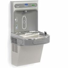 Elkay Ezh2o Lzs8wsvrlk Water Refilling Station, Vr Bubbler W/Filter, Light Gray