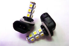 2PCS White 881 LED Fog Light Daylight Driving Bulbs 13-SMD 886 894 896 6000K DRL