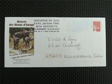 FRANCE BISON D`EUROPE BISONS WISENT WISENTE BUFALLO PRIVAT-GAU COVER c3773