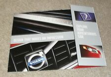 Volvo Ocean Race & R-Design Promotional Brochure Flyer - V70 XC70 XC90 c.2009
