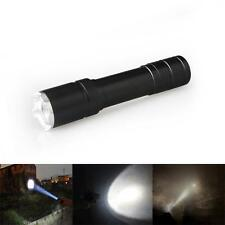 LED Flashlight Torches 1800LM Torch CREE Q5 Bulb Light Lamps Zoom 18650 BatteryJ