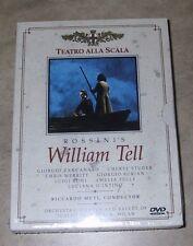 ROSSINI William Tell (La Scala) DVD 2-Disc Set NEW factory sealed