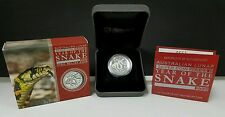 2013 Australian Year Of The Snake Proof High Relief Silver Perth Mint 7,500