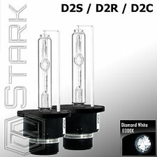 Pair - 6000K D2S D2R D2C HID Xenon Bulbs Replace Factory HID Headlights - B