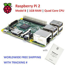 RASPBERRY PI 2 Model B 1GB RAM Quad Core CPU (Worldwide Free Shipping)
