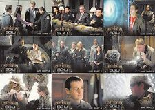 STARGATE UNIVERSE SG-U 2010 RITTENHOUSE COMPLETE BASE CARD SET OF 72 TV