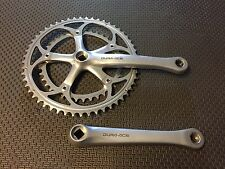 SHIMANO DURA ACE CRANKSET 7410 DOUBLE 39-53T 175 MM