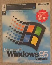 Microsoft Windows 95 UPGRADE RETAIL BOXED + INTERNET EXPLORER Kit, Vintage RARE