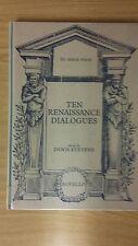 Dieci dialoghi rinascimentale: ed. da Denis Stevens: musica SCORE (a1)