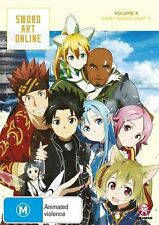 Sword Art Online Vol. 4 Fairy Dance Part 2 (Eps 20-25) NEW R4 DVD