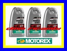 3 Litri Olio Motore 4 tempi MOTOREX Power Synt 4T 10W/50 100% Sintetico