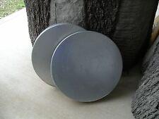 Galvanized Steel Lid for 55g Deer Feeder Barrel, set of 2