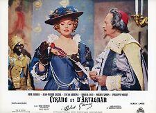 SYLVA KOSCINA ABEL GANCE CYRANO ET D'ARTAGNAN 1964 VINTAGE LOBBY CARD
