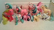 Vintage G1 My Little Pony Lot Of 11: Daddy So Soft Baby Chuck E. Cheese Pegasus