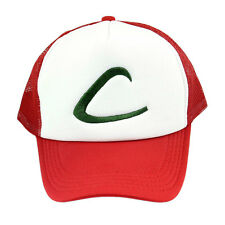 Anime Cosplay Pokemon Pocket Monster Ash Ketchum Baseball Trainer Cap Hat US