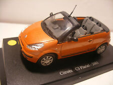 Atlas UNIVERSAL HOBBIES UH 1/43 eme CITROEN C3 Pluriel 2003