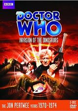 Doctor Who: Invasion of the Dinosaurs DVD Jon Pertwee Brand New and Sealed