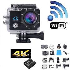 """2""""Ultra-HD 4K 1080P SJ9000 Wifi Cam Video Action Black Sports Camera Waterproof"""