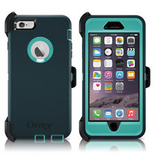 "OtterBox Defender iPhone 6 Plus 5.5"" Case & Holster Oasis Teal / Green OEM New"