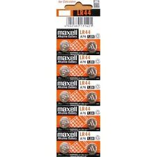 NEW! 10 MAXELL LR44 AG13 A76 L1154 303 357 SR44 BATTERY