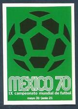 PANINI WORLD CUP STORY #019-MEXICO 1970 LOGO