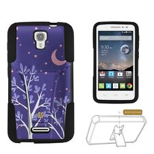 Beyond Cell Shell Case Hyber For Alcatel Pop Astro 5042T Purple Night Purple ...