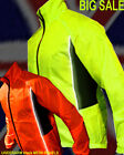 CYCLING JACKET HIGH VISIBILITY /HI VIZ WATERPROOF CYCLING RUNNING HORSE RIDING !