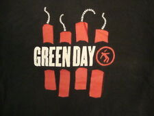 Green Day Punk Rock Post-Grunge Band American Idiot Black T Shirt S