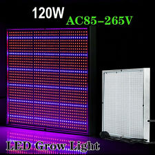 120W 1365 LEDs Fluorescent Grow Light Hydroponic Plant Full Spectrum Panel Lamp