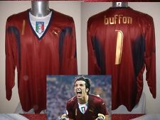 ITALIA ITALIA SHIRT PUMA ADULTI XL BUFFON Calcio football GK Jersey Maglia 2006