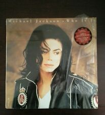 Who Is It [Single] [12 inch Vinyl Disc] by Michael Jackson (Vinyl, Apr-1993,...