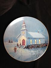 "Lowell Davis ""CHRISTMAS AT RED OAK II"" 1991 Collector Plate"