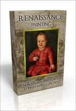 Renaissance painting - over 350 public domain pictures on DVD. Da Vinci, Durer