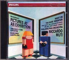 Riccardo MUTI: MUSSORGSKY Pictures at an Exhibition Bilder einer Ausstellung CD
