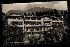 Garmisch Partenkirchen alte Ansichtkarte 1964 gelaufen Partie an der Klinik Gerl