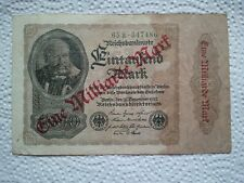 Reichsbanknote Eintausend Mark 15. Dez. 1922, Berlin, Dt. Reich 1 Milliarde Mark