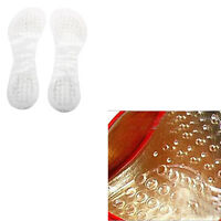 Silicone Gel Front Feet 1 Pair Shoes Pads Heel Cushion Insoles Foot Massager LS4